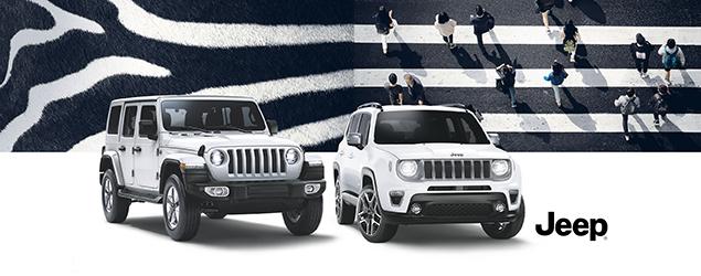 Die neuen Jeep® Modelle
