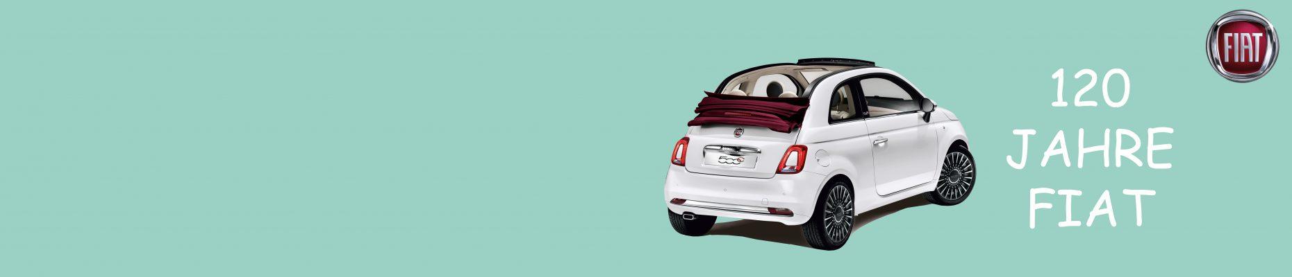 120 Jahre Fiat - Wir feiern mit!