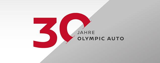 Olympic Auto feiert 30-jähriges Jubiläum