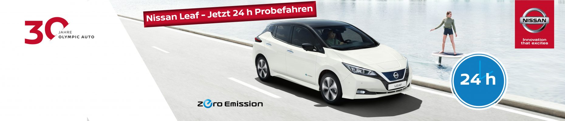 NISSAN Leaf - 24 h Probefahrt