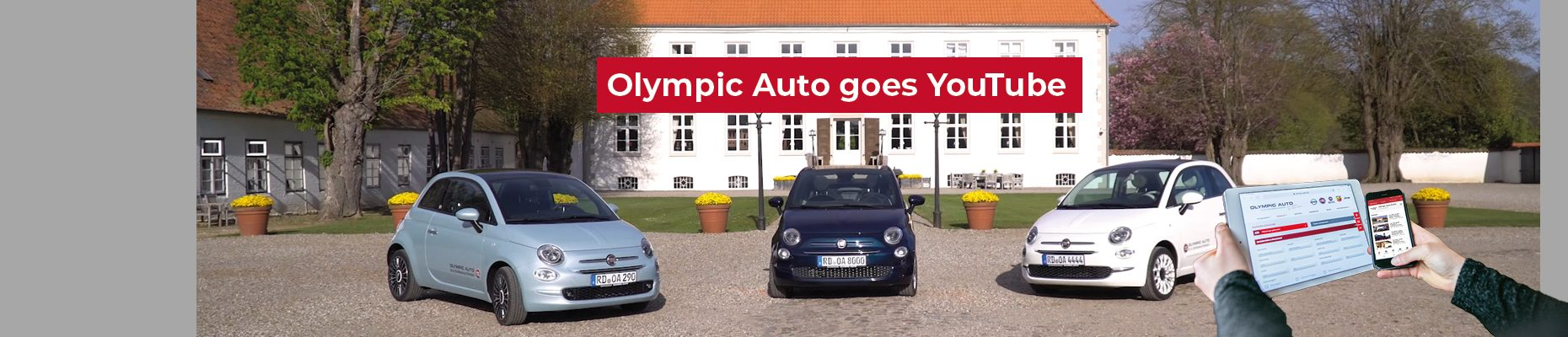Olympic Auto goes YouTube