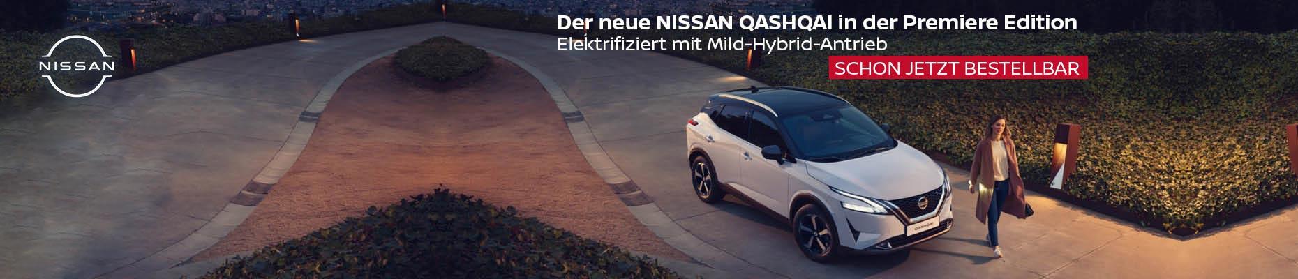 Nissan Qashqai Mildhybrid | Olympic Auto